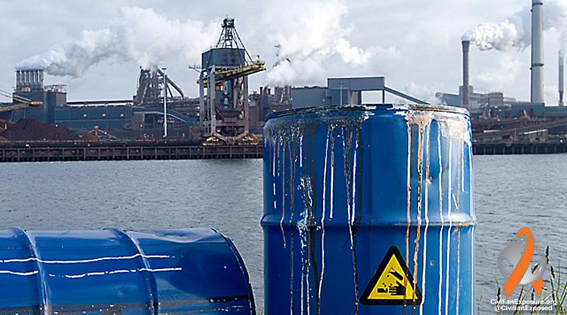 Civilian Exposure - Contamination Chemical - DCE Dichloroethylene