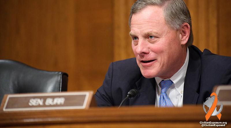 Civilian Exposure - US Congress - Senator Burr - North Carolina