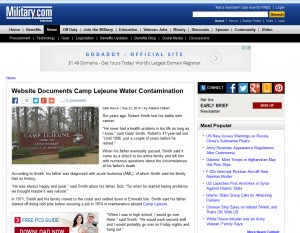 CivilianExposure.org featured on Military.com - 9-23-2014