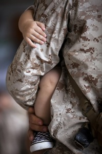 Civilian Exposure - Military Dad and Child