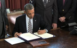 Civilian Exposure - President Obama signs HR 1627 for Camp Lejeune in 2012