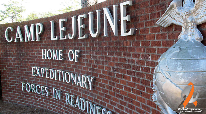 Civilian Exposure - Camp Lejeune Water Contamination