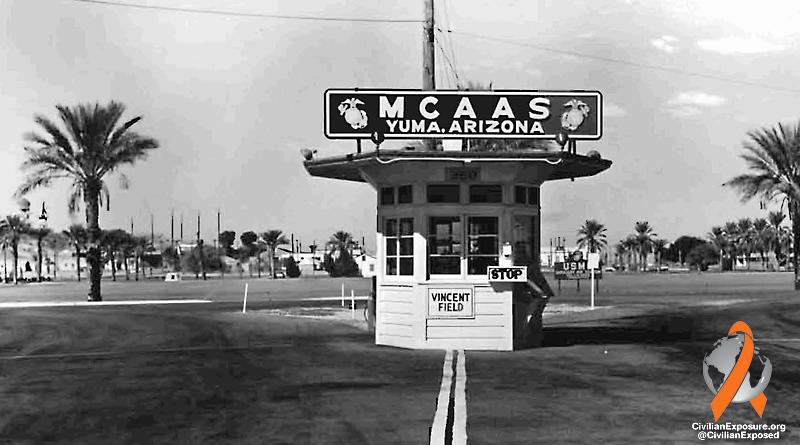 Civilian Exposure - Other Contaminated Military Bases - Yuma, Arizona