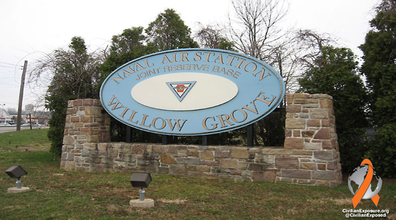 Civilian Exposure - Other Contaminated Military Bases - Willow Grove