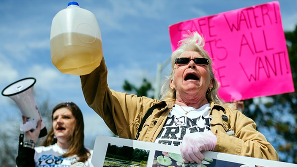 Civilian Exposure - Flint Michigan Toxic Water - Image Credit Al Jazeera