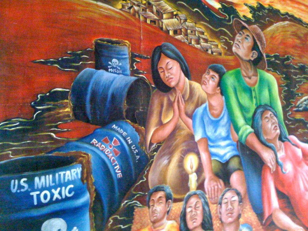 Civilian Exposure Toxic Military - Mural
