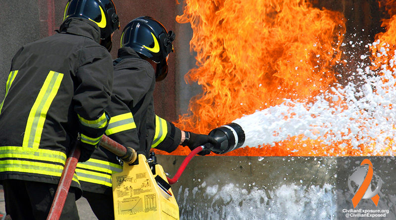 Civilian Exposure PFOA Firefighter Foam