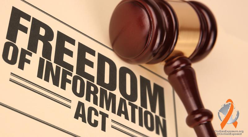 Civilian Exposure - Freedom of Information Act