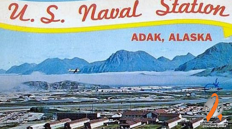 Civilian Exposure - Contaminated Bases - Adak Air Force Base Naval Station - Alaska
