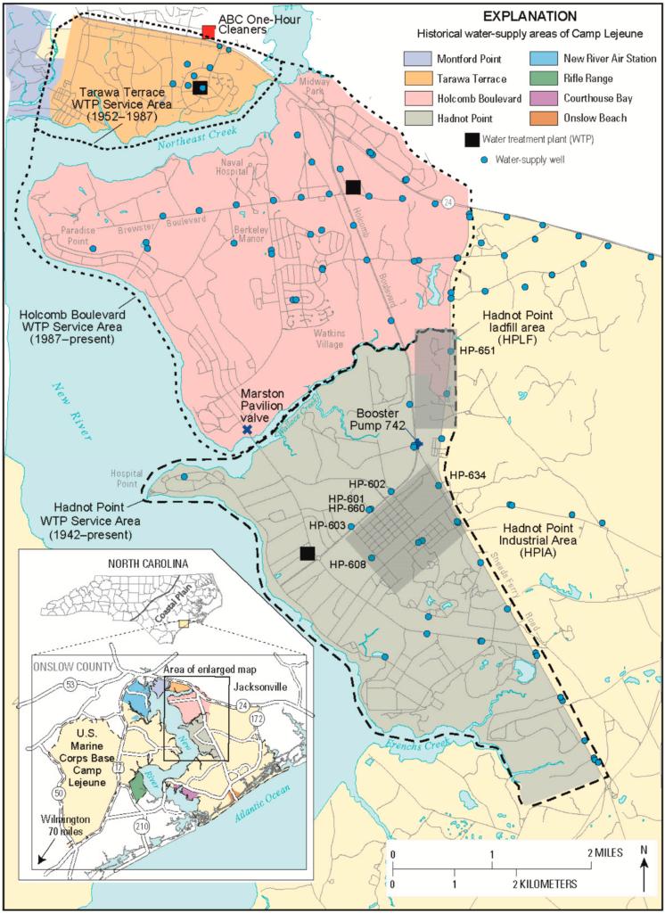 Civilian Exposure - Lejeune Water Modeling Report 2016