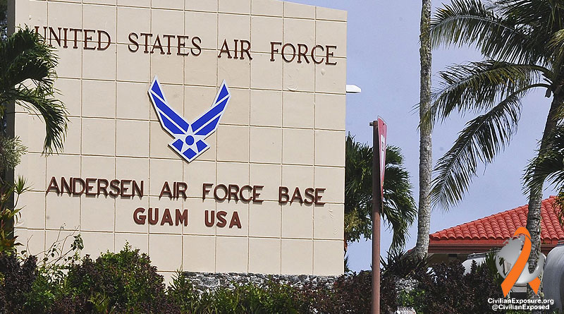 Civilian Exposure - Other Contaminated Military Bases - Andersen AFB - Guam