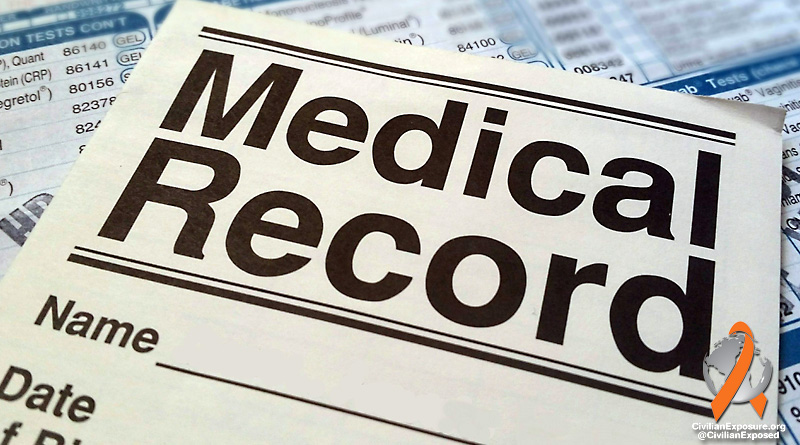 Civilian Exposure - Obtaining Medical Records and Filing Claims