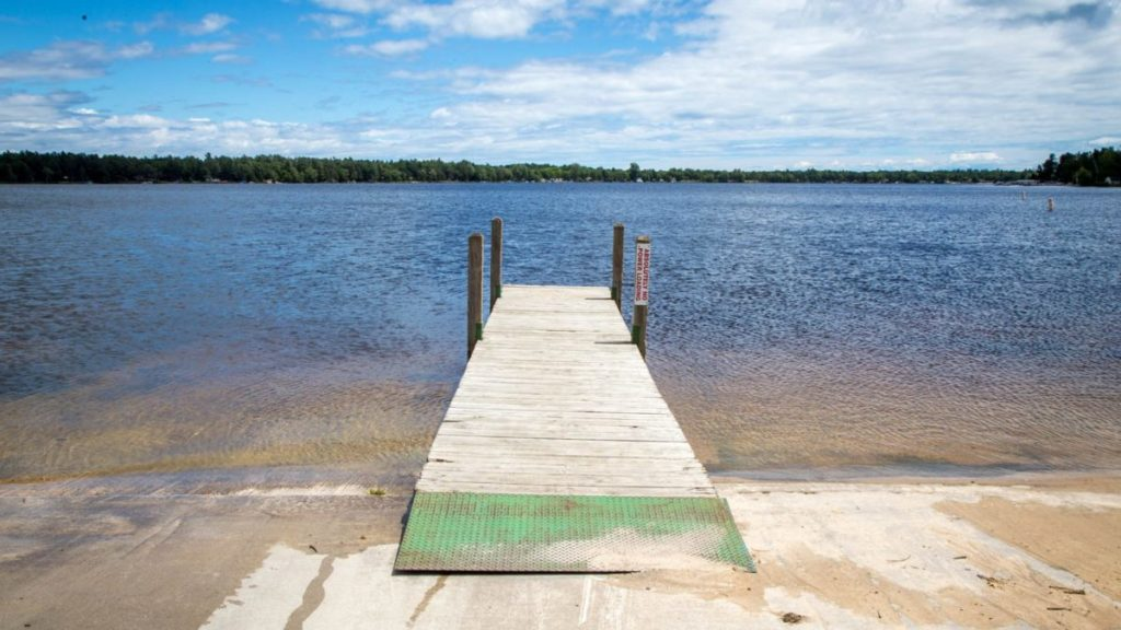 Civilian Exposure - Van Etten Lake in Oscada, Mich., has been contaminated with dangerous chemicals used in firefighting foam on the former Wurtsmith Air Force. (Adrienne St. Clair/News21)