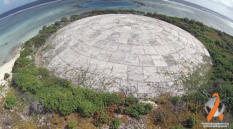 Civilian Exposure - Military Contamination - Stories of Exposure - Enewetak Ionizing Radiation - Runit Dome