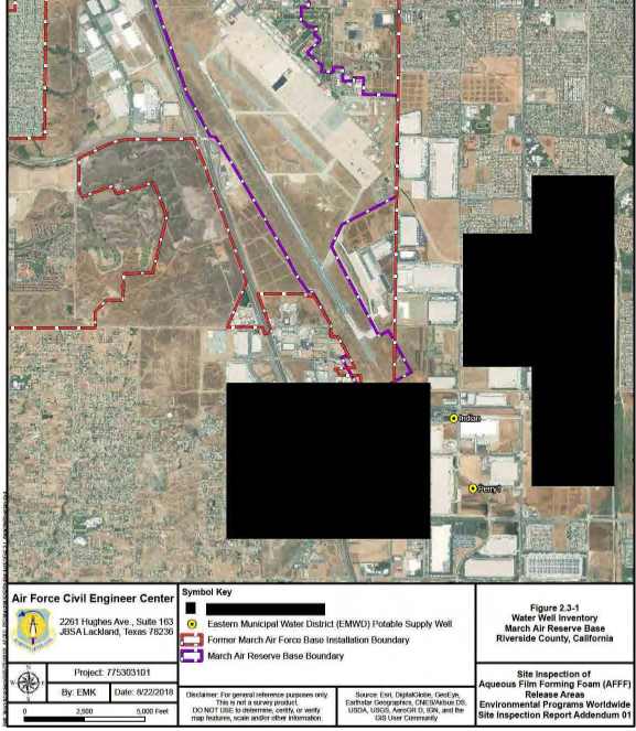 Civilian Exposure - March AFB